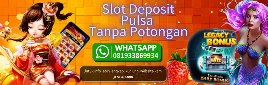 Deposit Slot Pakai Pulsa Telkomsel 10rb Tanpa Potongan 2021