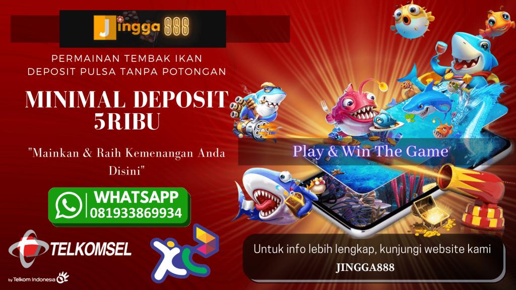 Jingga888 daftar game slot deposit pulsa tanpa potongan