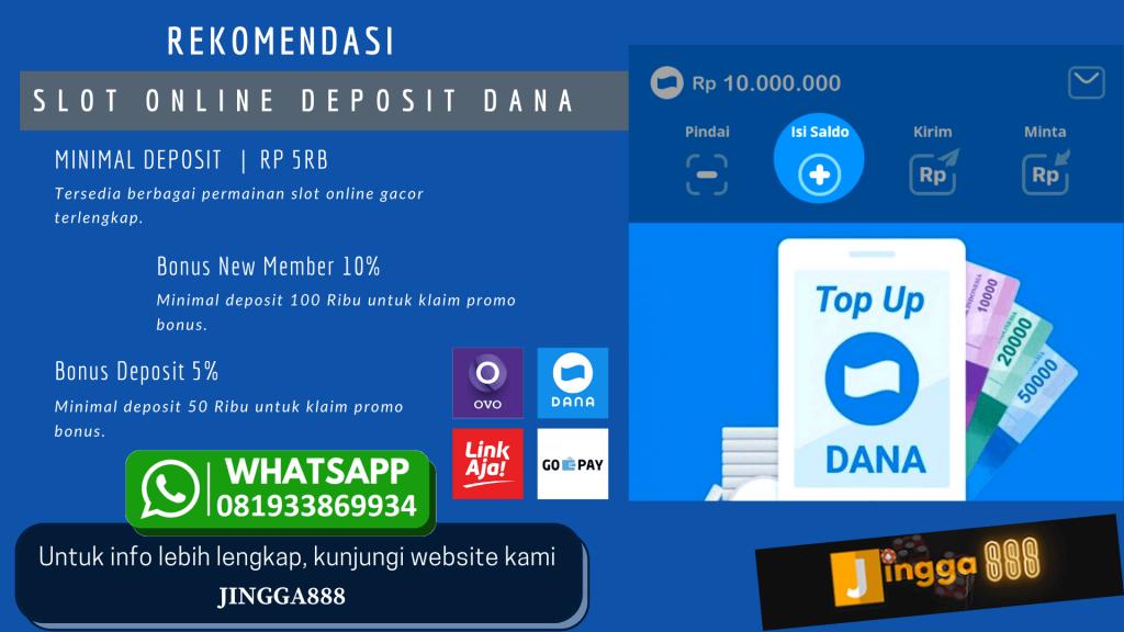 Jingga888 slot online deposit dana