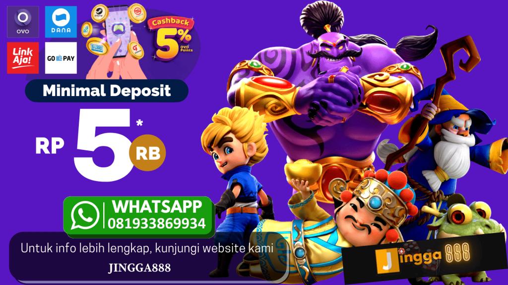 judi slot online deposit 5000 via linkaja terpercaya