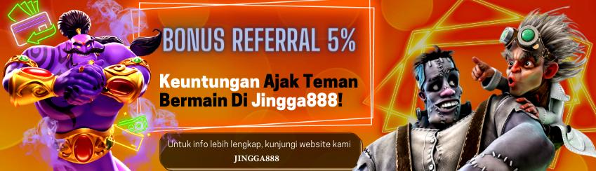 bonus slot online jingga888 terbesar 2021